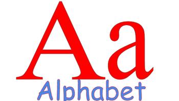 School Themed Alphabet