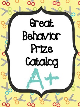 School Themed Behavior Catalog