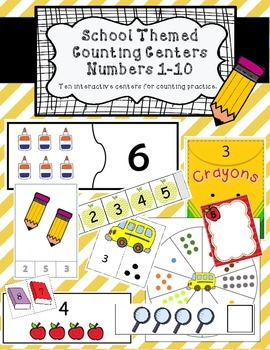 Back to School Counting Centers/Activities