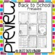School Themed Printables (Perfect for Sub Plans!!)