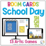 School Themed SH/CH/TH Sound BOOM Cards™️  for Distance Learning Speech Therapy