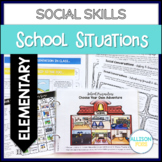 Social Skills Activities Speech Therapy School Themed