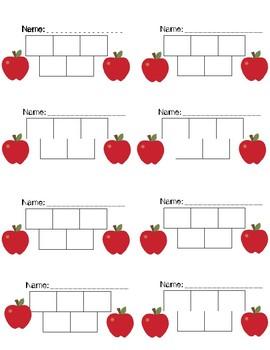 School Themed Sticker Chart