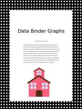 School Themed Student Data Binder