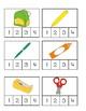 School Themed Syllable Clip Cards