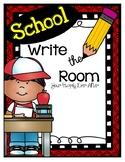 School Themed Write the Room Free Sample