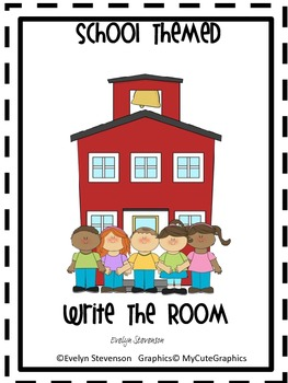 School Themed Write the Room