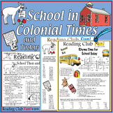 School in Colonial Times – and Today: Puzzle Set