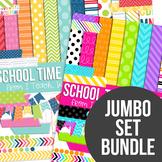 School Time Jumbo Set Bundle $8 until 7/24 Only
