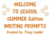 School Time Writing Prompts