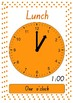 School Times on Clocks