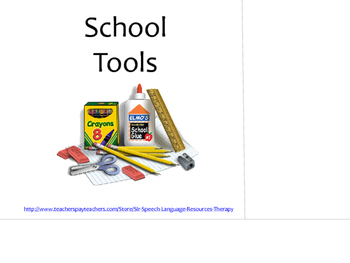 School Tools....An Interactive Book