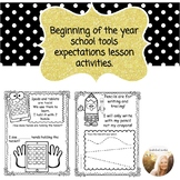 School Tools Expectations- Includes ipad/Tablet Expectation