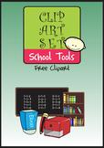School Tools Free Clip Art
