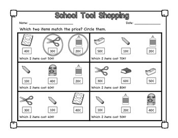 School Tools: No Prep Math and Literacy