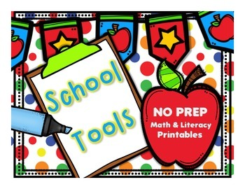School Tools: No Prep Math and Literacy