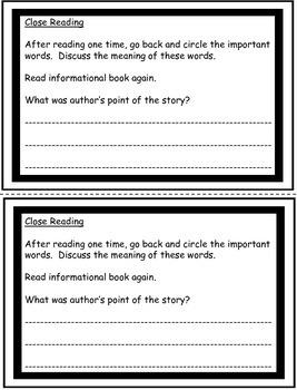 School Tools - Nonfiction Close Reading