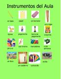 School Tools Spanish Poster