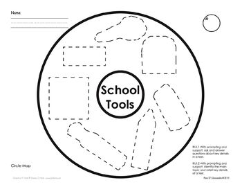 School Tools - Tools we use in school for Primary Grades