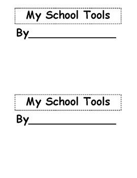 School Tools booklet