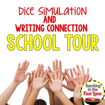 Back to School Writing Activity Tour Dice Simulation
