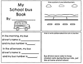 School Transportation Acitvities Bundle