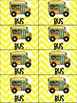 School Transportation Backpack Tags and Signs-Yellow