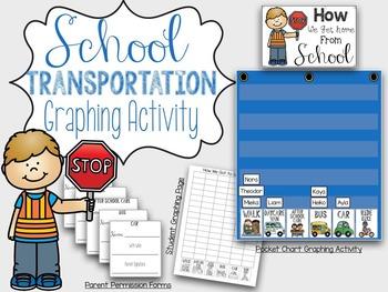 School Transportation Chart and Activity