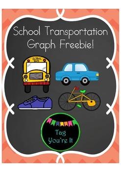 School Transportation Graph Freebie!