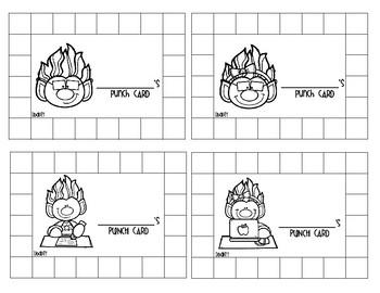 School Trolls Punch Cards