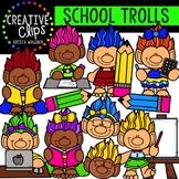 School Trolls: School Clipart {Creative Clips Clipart}