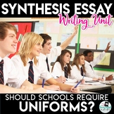 Argument Essay Unit - Should Students Be Required to Wear Uniforms?