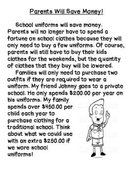 School Uniforms- Opinion