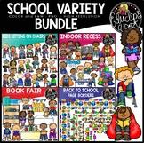 School Variety Clip Art Bundle {Educlips Clipart}
