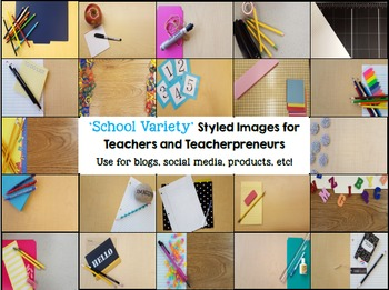 School Variety Styled Images Stock Photos for Teacherpreneurs Per & Com Use