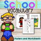 School Vocabulary | Back to School| ESL
