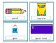 School Vocabulary Cards