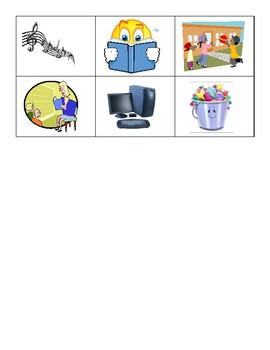 School Vocabulary Flashcards