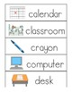 School Vocabulary - Flipbook