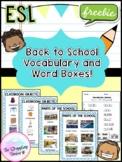 School Vocabulary Free!