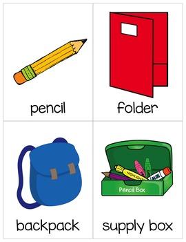 School Vocabulary Freebie