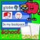 School Vocabulary Poster Flashcards