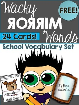 https://ecdn.teacherspayteachers.com/thumbitem/School-Vocabulary-Wacky-Mirror-Words-FREE-1941519/original-1941519-1.jpg