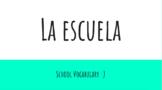 School Vocabulary in Spanish!