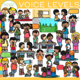 School Voice Levels Clip Art