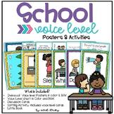 School Voice Levels: Posters & Activities