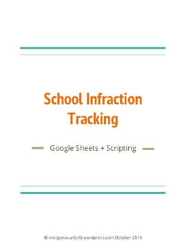 School Wide Infraction Tracking Workbook