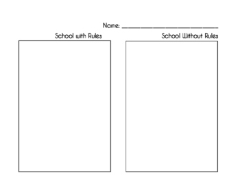 School With and Without Rules
