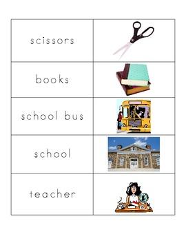 School Words Puzzle