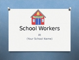 School Workers Power Point Template